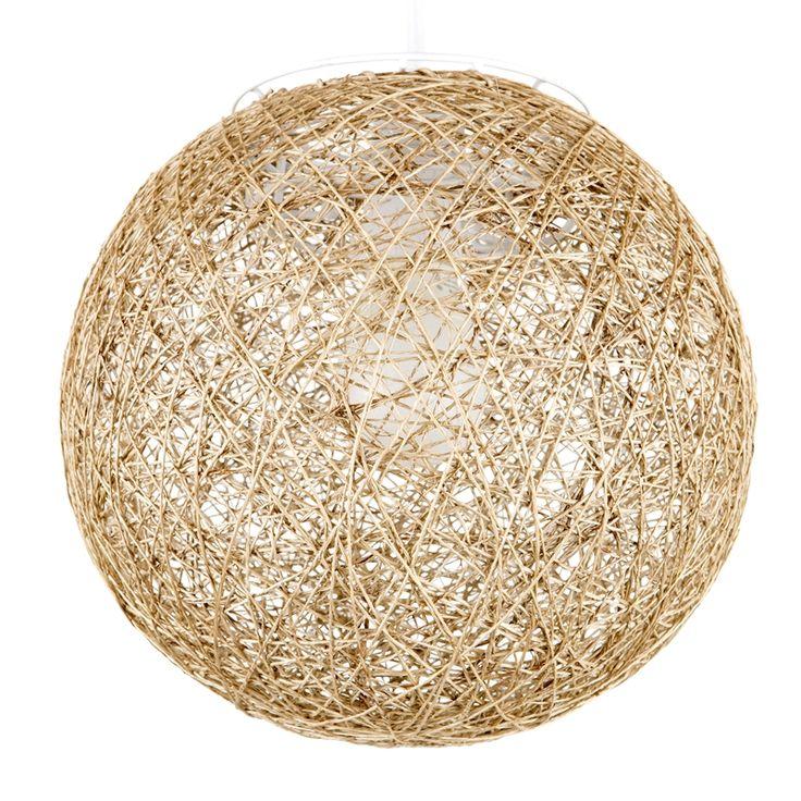 Brilliant 25CM Alarik Natural Ball Batten Fix Light