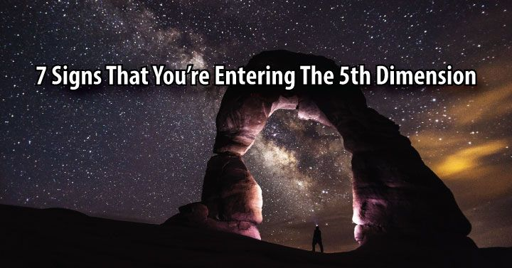 Can you feel that you're entering the 5th dimension? When you are ready to move beyond the 3rd dimension, you must go through the 4th dimension and ...