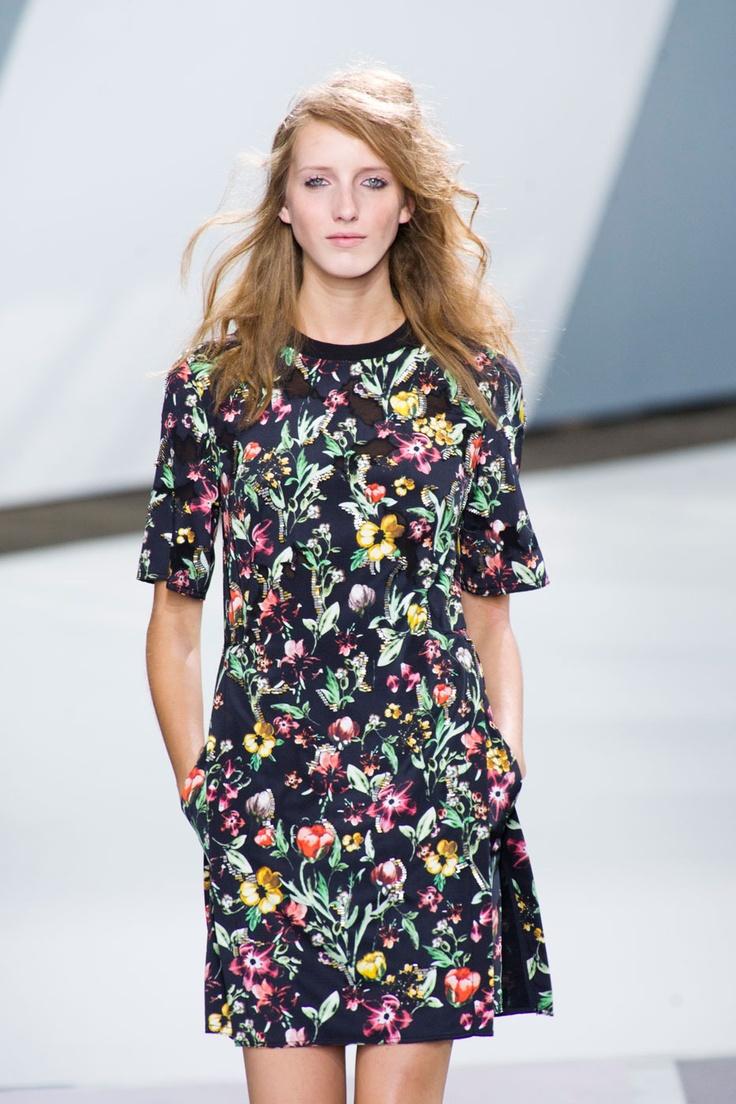 3.1 Phillip Lim S/S '13: Fashion, Prints Patterns, Floral Prints, Design Ii, Flowers Prints, Patterns Flowers, Textile Design