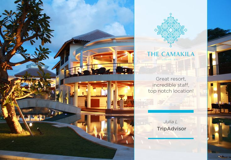 Thank you very much Ms. Julia L for your words of honor through Tripadvisor. We're delighted having received it. We at #TheCamakilaLegianBali are committed in making every stay memorable and personal. We hope to see you again in the near future!  #CamakilaBali #Camakila #Legian #Bali