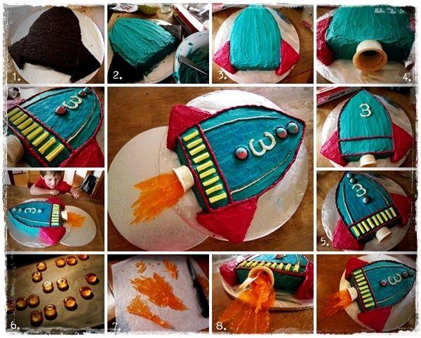raketen Torte                                                                                                                                                      Mehr
