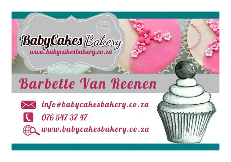 My Business Card Back www.babycakesbakery.co.za
