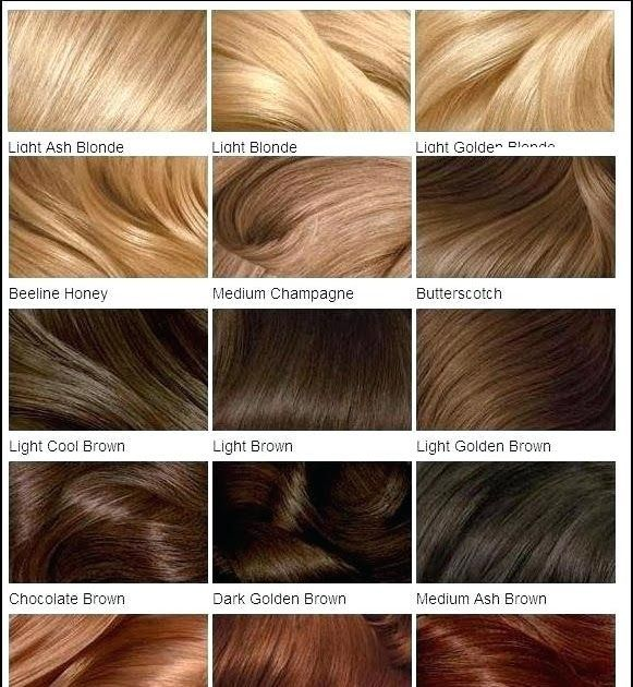 Light Brown Hair Color Chart Fooru Me Clairol Relaunches Natural