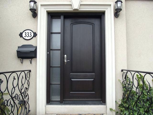 Front Doors With Side Windows In S S Front Door Sidelight Window Curtains Stucco Homes Small Exterior Doors Painted Front Doors