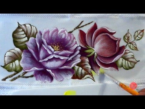 Vida com Arte | Pintura Casal de Corujas em Ecobag por Thanynha Avila - 08 de Agosto de 2014 - YouTube