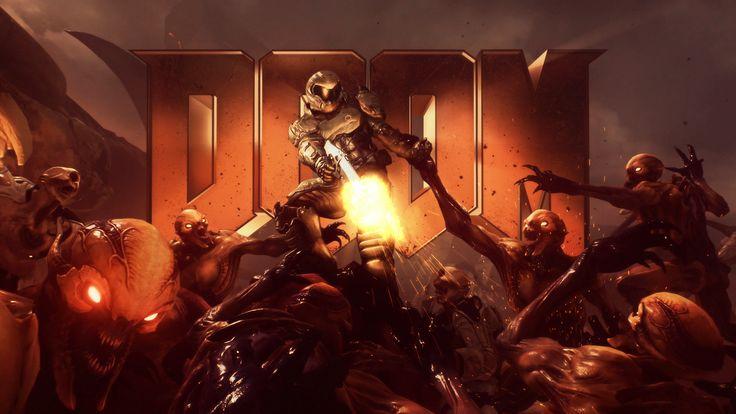 Classic Doom 2016 Wallpaper