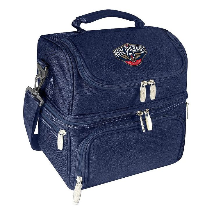Picnic Time New Orleans Pelicans Pranzo 7-Piece Insulated Cooler Lunch Tote Set,