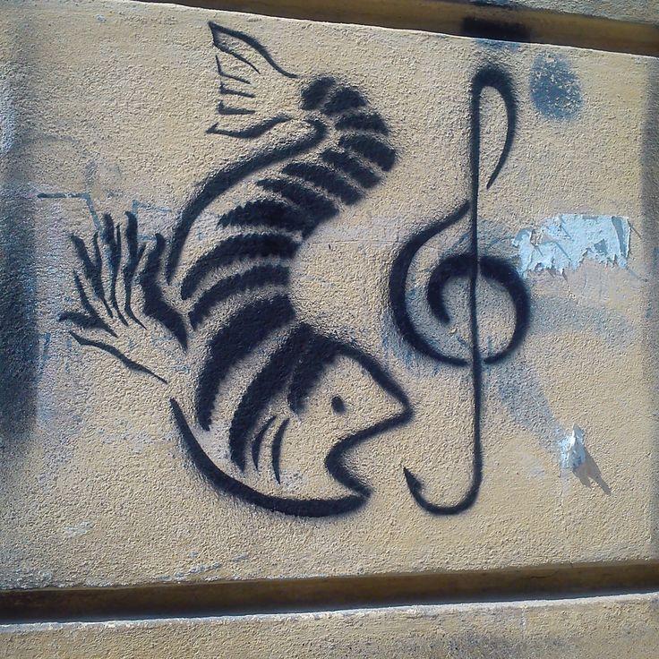 Street art - Traugutta Street, Warsaw, Poland. fot. Klara Sielicka, Warszawa