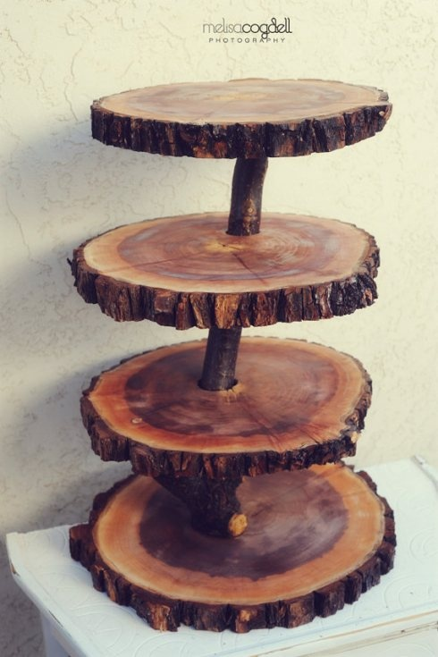 tiered cheesecake stands