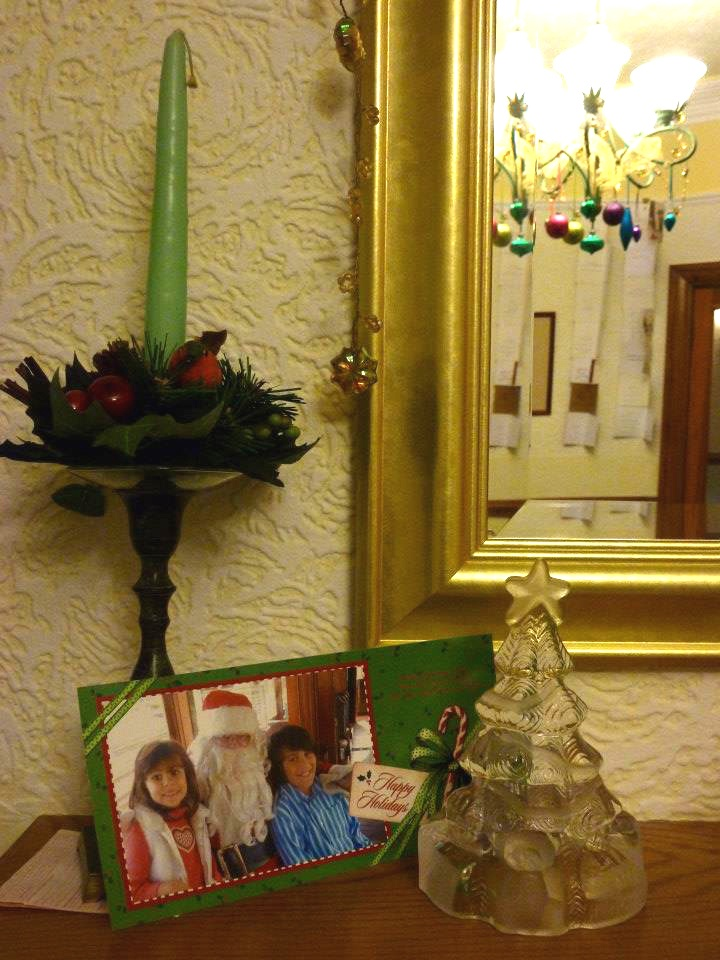 Detail ; our Christmas decor 2012