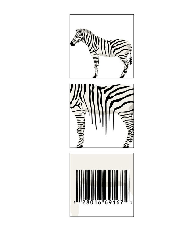Metamorphosis - The zebra stripes turing into a bar code. Using several tools, such as: smuged, clone, burn, eraser, pen or text and several more. using these tachniques to achieve this kinda of metamorphsis.