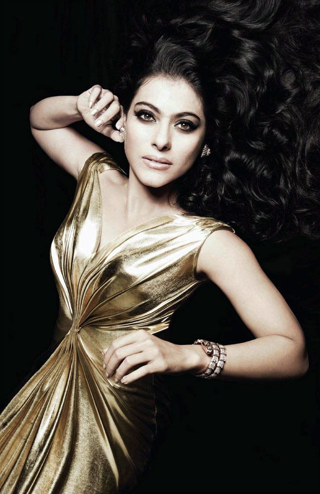 Kajol posing for Harper's Bazaar #Bollywood #Fashion #Style