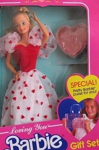 I loved this one too!! :) Loving You Barbie | 18 Barbie Dolls From The '80s And '90s That Are Worth A Fortune Now