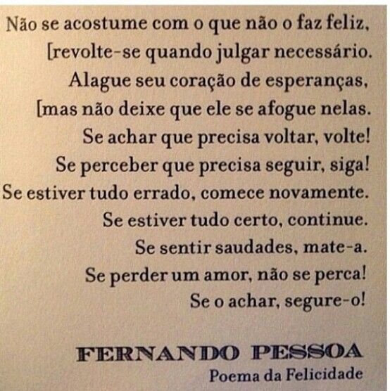 Poema Fernando Pessoa Felicidade Uy25 Ivango