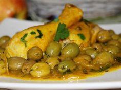 Poulet aux olives - Cuisine Marocaine