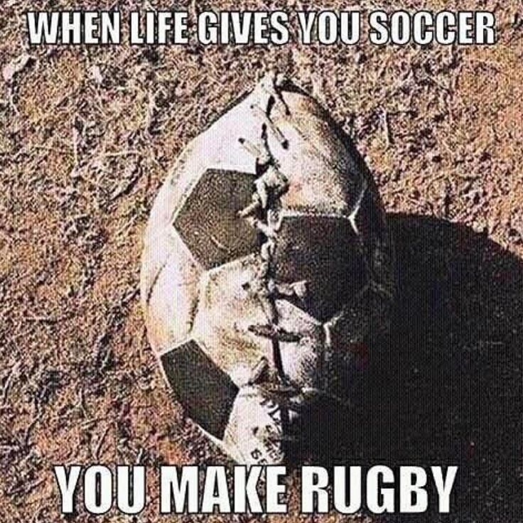 "23 Likes, 2 Comments - Rugby Nation  (@rugbynation) on Instagram: ""Problem solved. Tag your football soccer player friends"""