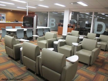 Artopex lounge furniture at the George Brown College Library.