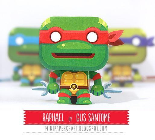 Mini Papercraft: Mini Raphael