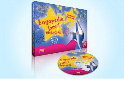 Logopedie prin jocuri si exercitii (carte cu CD-fise de lucru)- este o culegere de aplicatii ce vine in ajutorul celor interesati de corectarea tulburarilor de pronuntie aparute la copii.