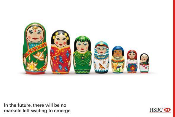 Матрёшка - Russian Dolls - HSBC Ads