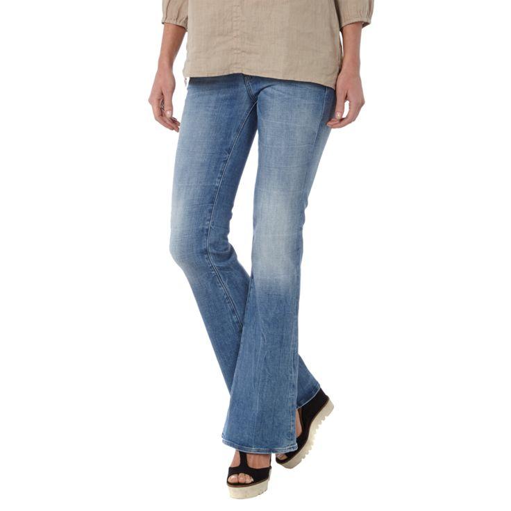   #G-Star #Raw #Stone #Washed #Flared #Cut #Jeans #für #Damen