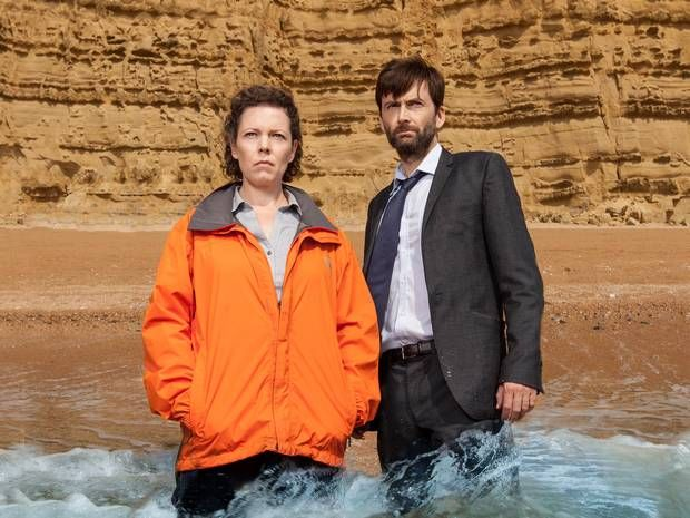 ITV has confirmed that David Tennant and Olivia Colman are to return for a Third Series of 'Broadchurch' .. | ..   TWITTER PREDICTS BROADCHURCH SERIES THREE ..   The broadcaster teasingly made the announcement with a Tweet *just minutes after* the Second Series Finale finished airing .. ||News - TV & Radio - The Independent