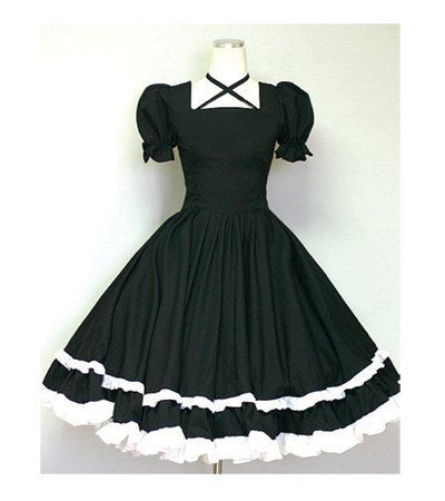 Gothic Lolita Dress Cute Goth Loli Dolly Dress-Custom made order. $85.00, via Etsy. - womens green dress, teal summer dresses, long teal dress *sponsored https://www.pinterest.com/dresses_dress/ https://www.pinterest.com/explore/dresses/ https://www.pinterest.com/dresses_dress/flower-girl-dresses/ http://www.shabbyapple.com/clothing/dresses