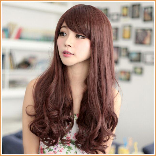 Pinkish/brown hair color