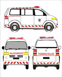 Dealer & Workshop Ambulance: Layout & Design Mobil Ambulance Pusling