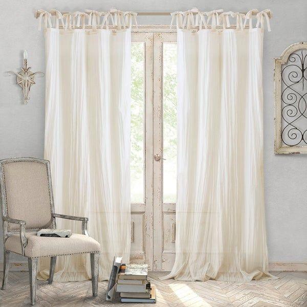 363d48dc5ea6e658bc30a33cb3e2c013 - Better Homes & Gardens Heathered Window Curtain Panel