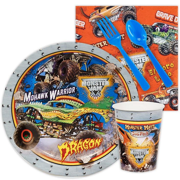 Halloween is coming!  Monster Jam 3D Sn...  http://reelinthedeal.com/products/monster-jam-3d-snack-party-pack?utm_campaign=social_autopilot&utm_source=pin&utm_medium=pin
