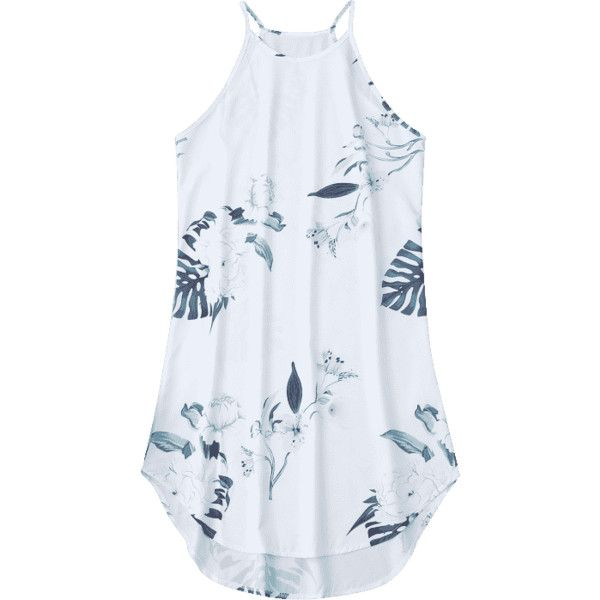 Floral Printed Cami Dress (25 BAM) ❤ liked on Polyvore featuring dresses