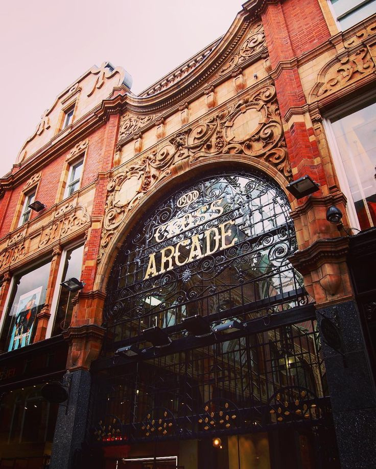 Cross Arcade Leeds UK  #architecture #building #travel #Leeds #uk #arcade