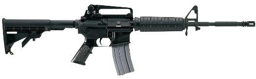 bushmaster AR-15 w/ M4 carbine. bring it bitches!