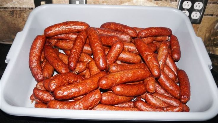 Curing and Smoking Meat: Texas Smoked Hot Links