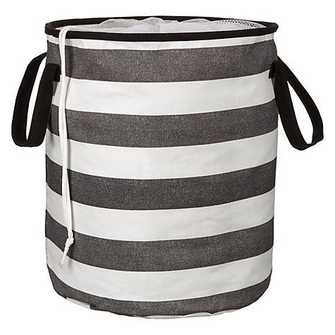 Buy Brooklyn Striped Pop Up Hamper Online at johnlewis.com baby laundry basket £18