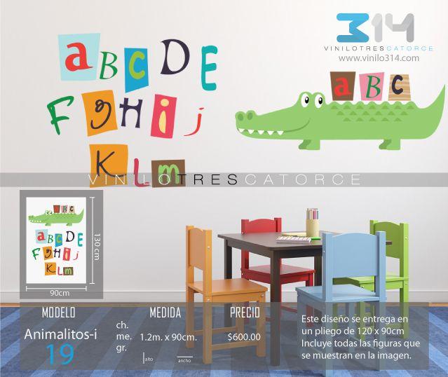 Vinilos decorativos infantiles sticker decorativo for Stickers infantiles
