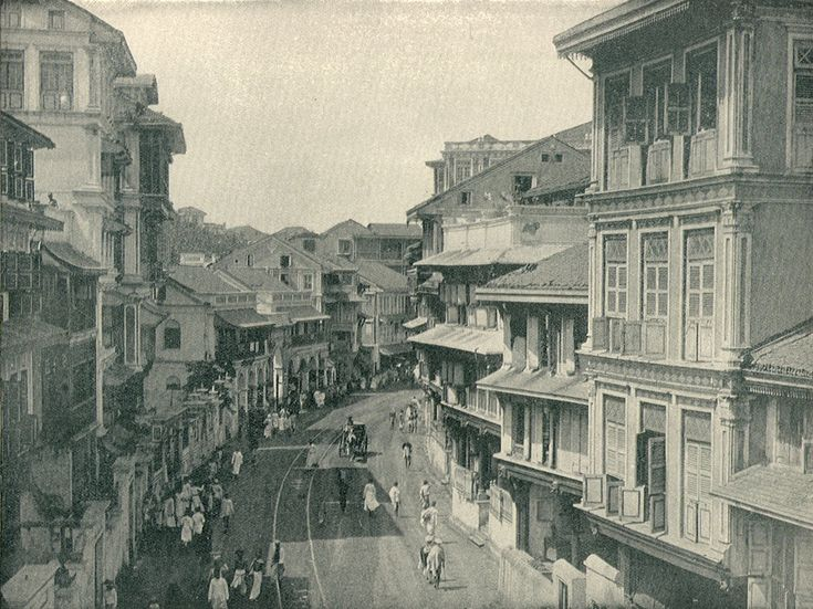 Bombay as it used to be http://upload.wikimedia.org/wikipedia/commons/6/6a/BombayKalbadevieRoad1890.jpg