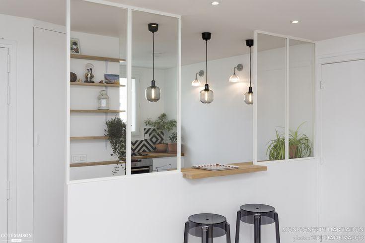 Un appartement rénové à Paris 19e, , mon concept habitation - artisan