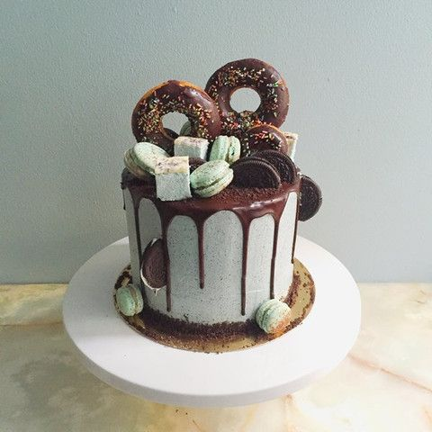 The Perfect Chocolate Ganache Drip Cake Recipe. No cream only butter. Doesn't like people copying her (donut/macaron) drip cakes