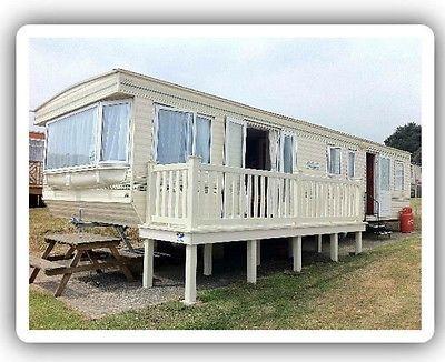 Static Caravan Hire 2017 Isle Of Wight Sandhills Holiday Park Family 8 Berth