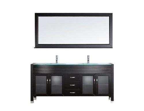 127 best images about master bath on pinterest for 71 inch double sink bathroom vanity