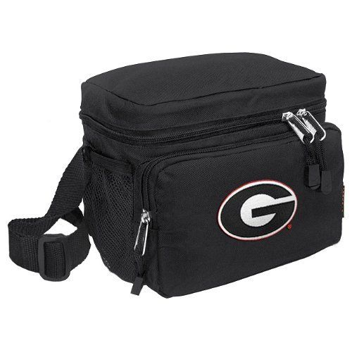 Georgia Bulldogs Lunch Box Cooler Bag Insulated University of Georgia - Top Quality Unique Lunchbox or Sophisticated Black Travel Bag - OFFICIAL NCAA COLLEGE LOGO Merchandise by Broad Bay. Save 33 Off!. $19.99. Our tough deluxe Georgia Bulldogs lunch box cooler bag is just the right size for lunch or travel. This well-insulated official college logo bag contains a roomy main compartment and a zippered front pocket. Top quality construction with additional convenience features su...