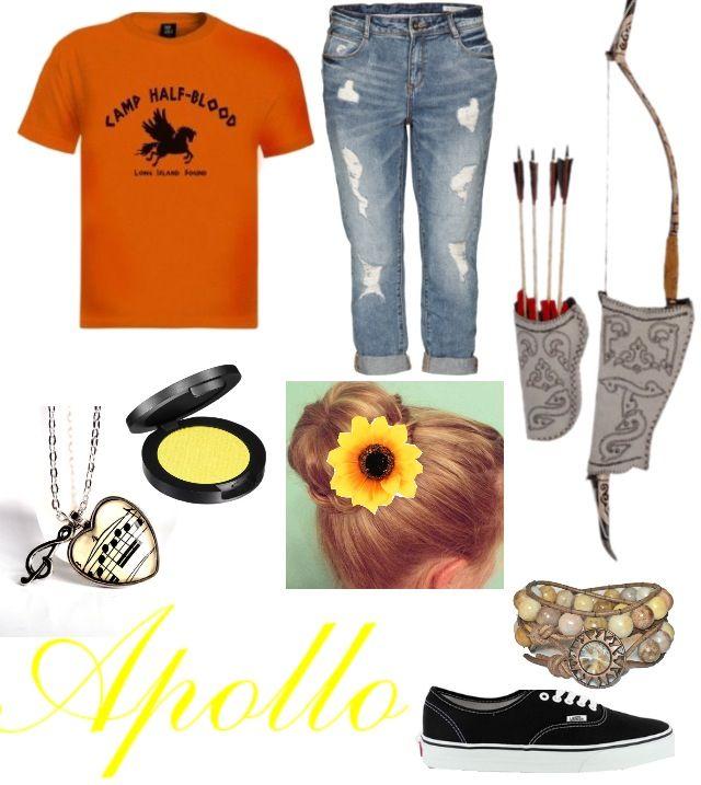 Apollo cabin 7,Apollo cabin outfit,camp halfblood