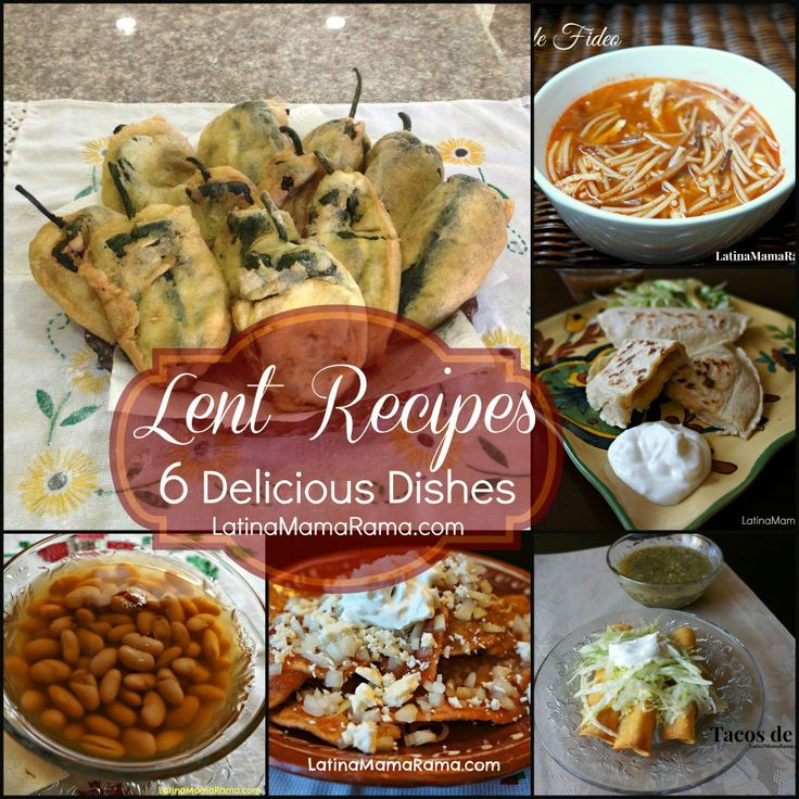 Lent Recipes - 6 Delicious Dishes from @Ophelia Weiner {LatinaMamaRama.com} . Thanks for sharing with #SmallVictoriesSunday #linky 10