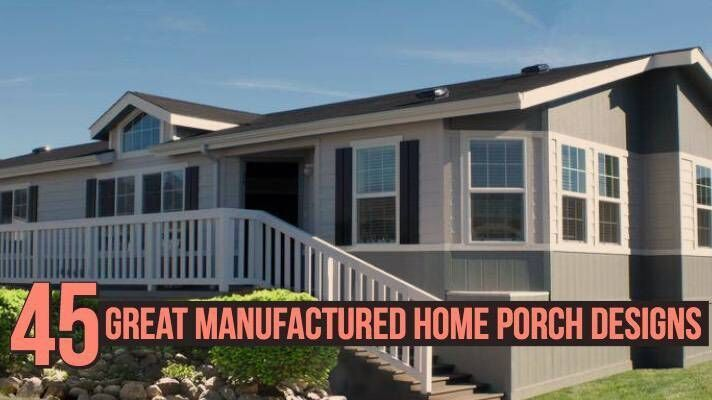 Mobile Home Living Mobile Home Living Mobile Home Exteriors Manufactured Home Porch Mobile Home Living
