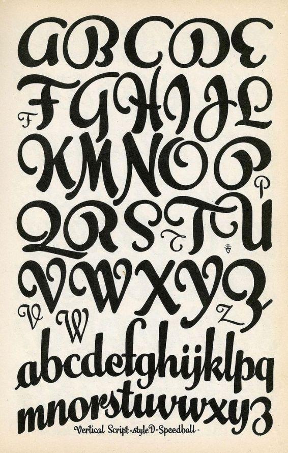 17 mejores ideas sobre tipos de letras en pinterest for Estilos de letras
