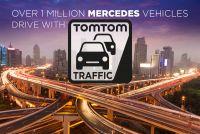 1 milhão de Mercedes-Benz na estrada com TomTom Traffic
