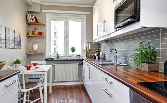 اشكال مطابخ صغيره و صور مطابخ مميزه و تصميميات مودرن و مختلفه موبيكان Kitchen Design Long Narrow Kitchen White Kitchen Cabinets