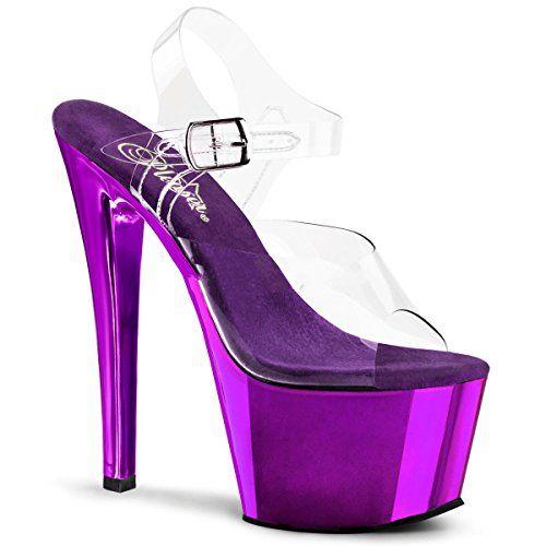 Pleaser Sky-308 - Sexy Plateau Chrome High Heels Sandaletten 35-45 - http://on-line-kaufen.de/pleaser/pleaser-sky-308-sexy-plateau-chrome-high-heels-35-3